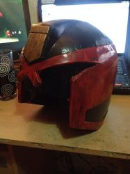 Judge Dredd helmet by Benny2191