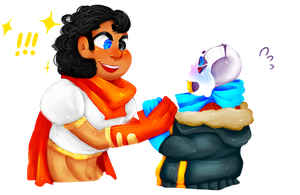[G] Overtale Papyrus and Salt: MEET by evillovebunny500
