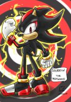 VGC #194 - Shadow the Hedgehog by blue-hugo