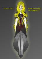Creepypasta Oc (redesign) : Broken Juliet by BoXGirlVivi