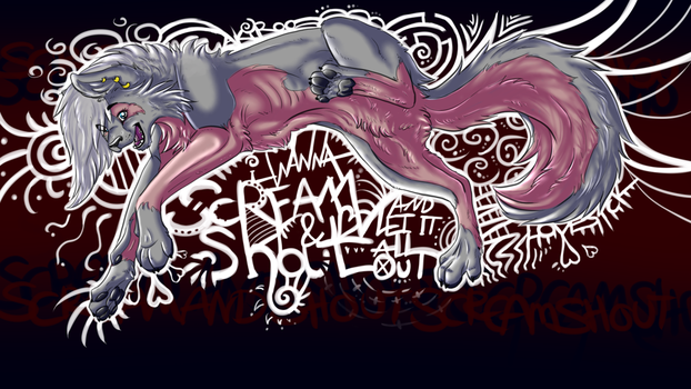 Scream and shout. by Akiroo