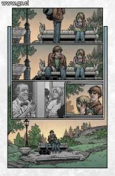 Locke And Key 02 pag 17 color by GabrielRodriguez