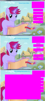 Legends of Equestria Glitch (Help..plz?) by Flippyisadorable