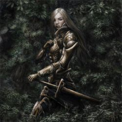 Knight In The Woods by Gyossaith