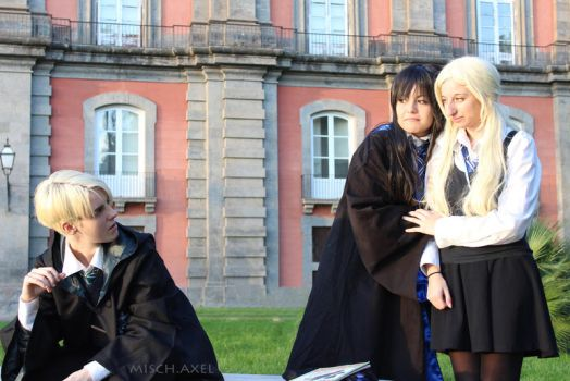 Harry Potter cosplay : what do you want by MischievousBoyAilime