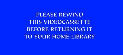 Please Rewind this Videocassette (1994-2003) by MikeJEddyNSGamer89