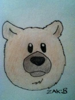 Simple Bear by AmoebaGagless