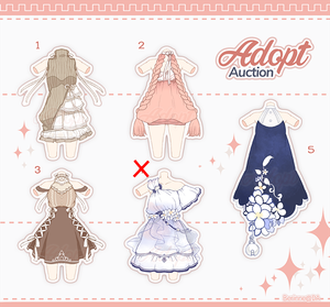 [Adopt Auction] Outfits #3 CLOSE by QuinnyIlada