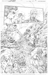 Green Lanterns #42 page 14 PENCIL by vmarion07