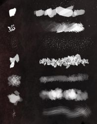 Painting brushes by CreativeImages