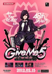 AKB48 GIVE ME 5 ARCADE FLYER by roninbuddha