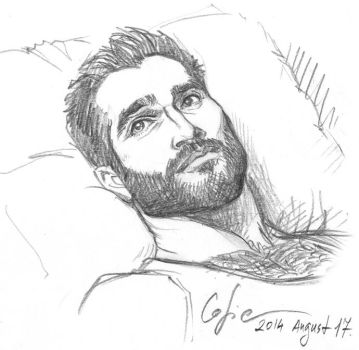 Tyler Hoechlin by Cofie