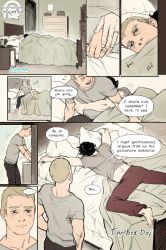 Johnlock - The Bed Day - Page 1 by reapersun