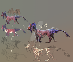Wip character Design by Black-Wing24
