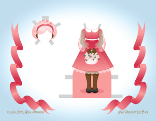 December Angel Paper Doll - Outfit 4 by juliematthews