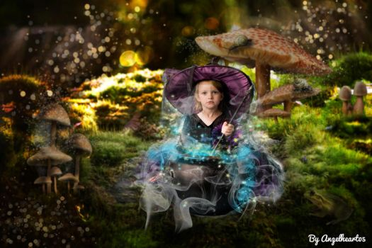 The Little Witch by angelheart05