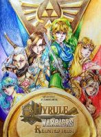  Cover  Hyrule Warriors: Reunited Trust by RossiniCrezyel