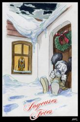 Merry Christmas And Happy New Year by BlekLeRoch