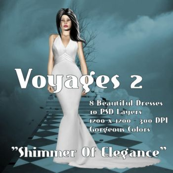 Voyages2 - Shimmer of Elegance by Dolphins-Dream