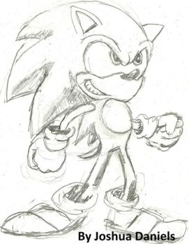 Sonic X Style - Sonic 2 by Joshtrip1