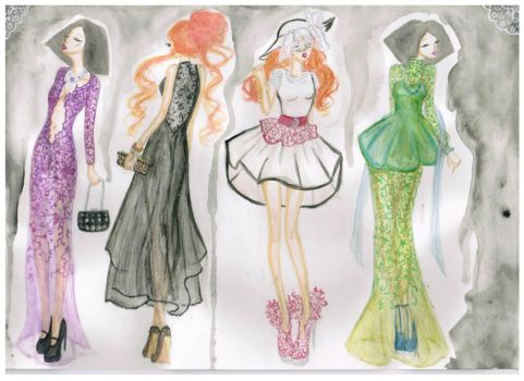 Lace Collection by fatpear