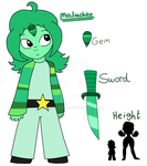 Malachite - Gifted SU OC by DualJewels