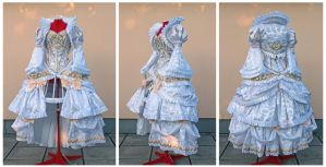 Rococo Princess Serenity cosplay set commission by lady-narven
