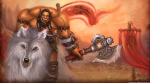 Durotan Warcraft movie by itzaspace