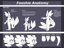 Fooshie Anatomy Sheet [Semi-Open Species] by SerifDraws