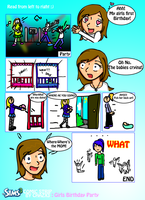 .:Gamin strip: Sims 3 pt2:. by Chazx3