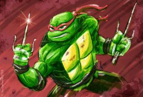 Really Rough Raphael by JoeCostantini