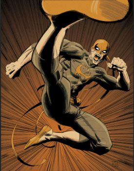Iron Fist by Stephen-Green
