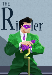 Riddler cover by pink-ninja