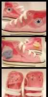 Cuppin' Cake Shoes by willdrawforfood