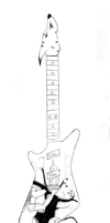 Furry Themed Gibson Explorer by FafnirMcCloud