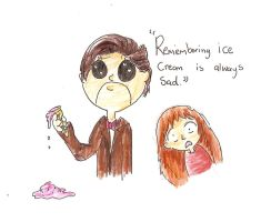 'Remembering ice cream is always sad' by lizzie9009
