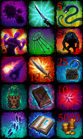 Icons juggernaut by Beffana