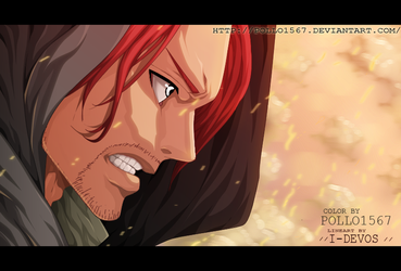 One Piece 907 - shanks by pollo1567