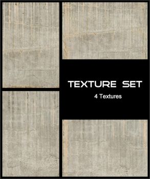Texture Set - Concrete Wall by AGF81