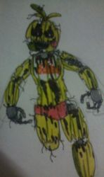 Rotten Chica by FreddleFrooby