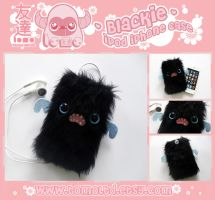 BLACKIE - Kawaii iPhone iPod Touch Case by TomodachiIsland