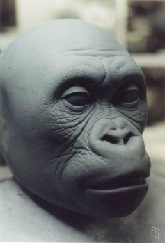 Baby Joe sculpture, Mighty Joe by aaronsimscompany