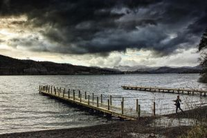 Cumbrian Spring: Windermere Jetty 2 by Coigach