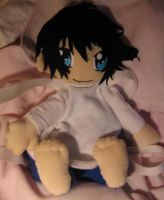 DEATH NOTE L Plushie Bag by Plushbox
