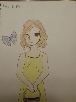 First pic in new sketchbook by creepergirl890