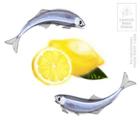 Lemons and Anchovies by IllustrativeJack