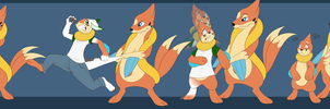Buizel tf tg (commission) by Tomek1000