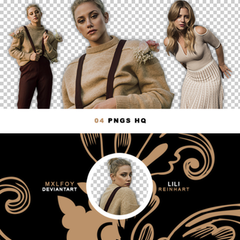 Pack png 147 // Lili Reinhart by mxlfoy