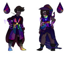 Rainbow Obsidian Adopts OPEN (SALE) by CrabStag