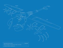 Lobsterplane Blueprint by troped